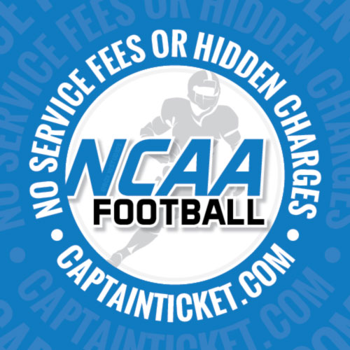 Buy NCAA Football tickets cheaper with no fees at Captain Ticket™ - The Original No Fee Ticket Site!