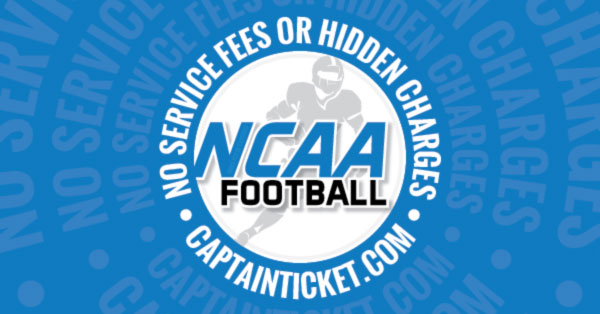 Get Cheap College Football Tickets With No Fees On Captain Ticket