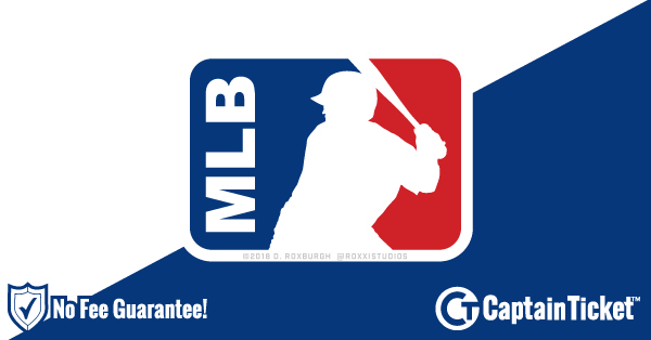 Buy MLB tickets cheaper with no fees at Captain Ticket™ - The Original No Fee Ticket Site!