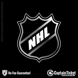 Buy NHL tickets cheaper with no fees at Captain Ticket™ - The Original No Fee Ticket Site!