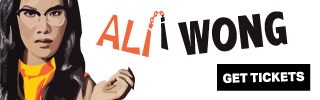 Ad Banner For Cheap Ali Wong Tickets