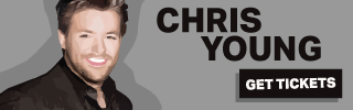 Ad Banner For Cheap Chris Young Tickets