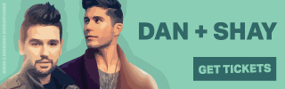 Ad Banner For Cheap Dan and Shay Tickets