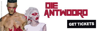 Ad Banner For Cheap Die Antwoord Tickets