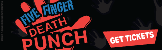 Ad Banner For Cheap Five Finger Death Punch Tickets