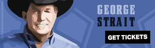 Ad Banner For Cheap George Strait Tickets