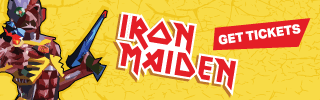 Ad Banner For Cheap Iron Maiden Tickets