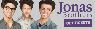Ad Banner For Cheap Jonas Brothers Tickets