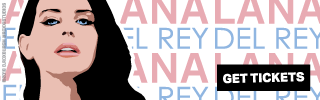 Ad Banner For Cheap Lana Del Rey Tickets