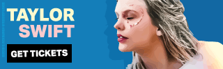Ad Banner For Cheap Taylor Swift Tickets