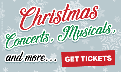 Ad Banner For Cheap Christmas Show Tickets