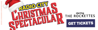 Ad Banner For Cheap Radio City Christmas Spectacular Tickets