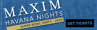 Ad Banner For Cheap Super Bowl Maxim Tickets