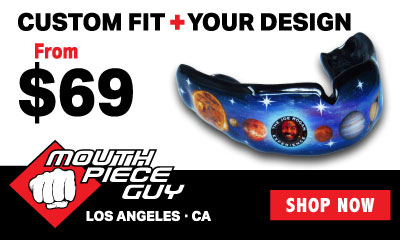 Banner Ad For Mouthpiece Guy Mouthguards In Los Angeles CA