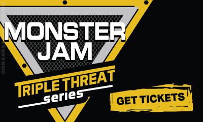 Banner Ad For Monster Jam Triple Threat Series Tickets