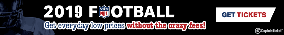 Ad Banner For Cheap NFL Football Tickets