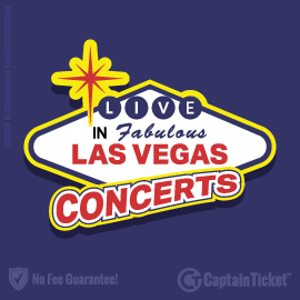 Buy Las Vegas Concert tickets for less with no service fees at Captain Ticket™ - The Original No Fee Ticket Site! #FanArtByRoxxi