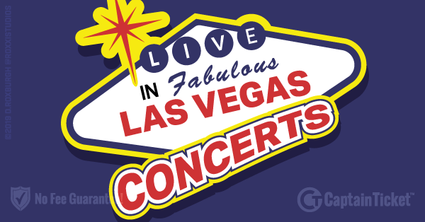 Get Las Vegas Concert tickets for less with everyday low prices and no service fees at Captain Ticket™ - The Original No Fee Ticket Site! #FanArtByRoxxi