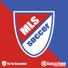 Buy MLS Soccer tickets cheaper with no fees at Captain Ticket™ - The Original No Fee Ticket Site!