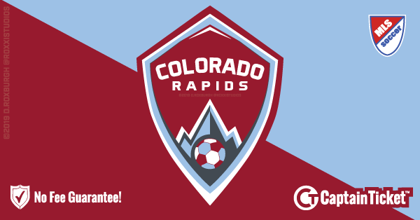 Get Colorado Rapids tickets for less with everyday low prices and no service fees at Captain Ticket™ - The Original No Fee Ticket Site! #FanArtByRoxxi