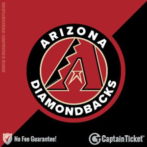 Arizona Diamondbacks Tickets & Schedule - no service fees on any tickets at CaptainTicket.com