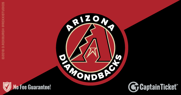 Arizona Diamondbacks Tickets & Schedule - no service fees on any tickets at CaptainTicket.com
