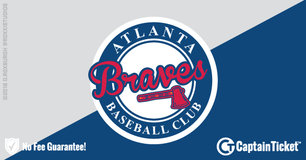 Atlanta Braves Tickets & Schedule - no service fees on any tickets at CaptainTicket.com