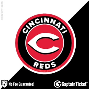 Buy Cincinnati Reds tickets for less with no service fees at Captain Ticket™ - The Original No Fee Ticket Site! #FanArtByRoxxi
