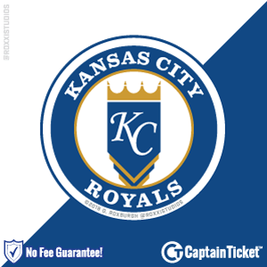 Buy Kansas City Royals tickets for less with no service fees at Captain Ticket™ - The Original No Fee Ticket Site! #FanArtByRoxxi
