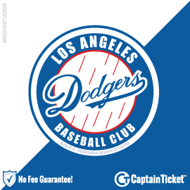 Buy Los Angeles Dodgers tickets for less with no service fees at Captain Ticket™ - The Original No Fee Ticket Site! #FanArtByRoxxi