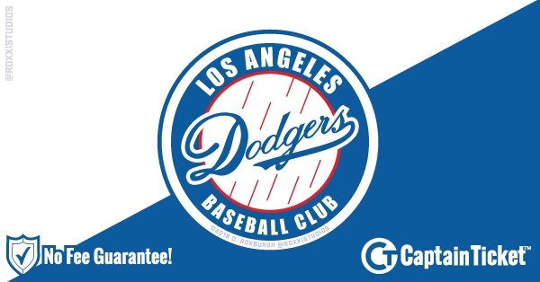 Buy Cheap Dodger Tickets at Captain Ticket™ - The Original No Fee Ticket Site!