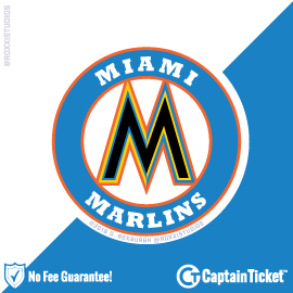 Buy Miami Marlins tickets for less with no service fees at Captain Ticket™ - The Original No Fee Ticket Site! #FanArtByRoxxi