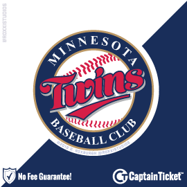 Buy Minnesota Twins Tickets At Captain Ticket™ - The Original No Fee Ticket Site