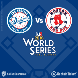 2018 MLB World Series: Dodgers vs Red Sox