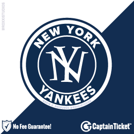 Buy New York Yankees Tickets At Captain Ticket™ - The Original No Fee Ticket Site
