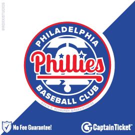 Buy Philadelphia Phillies Tickets At Captain Ticket™ - The Original No Fee Ticket Site