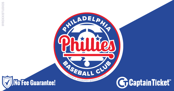 Buy Philadelphia Phillies Tickets At Captain Ticket™ - The Original No Fee Ticket Site