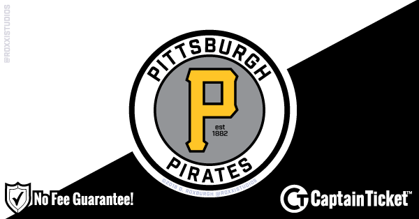 Buy Pittsburgh Pirates Tickets At Captain Ticket™ - The Original No Fee Ticket Site