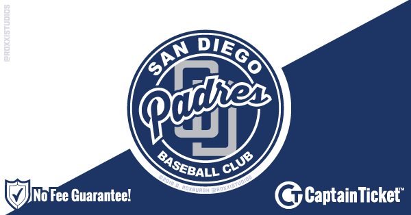 Buy San Diego Padres Tickets At Captain Ticket™ - The Original No Fee Ticket Site