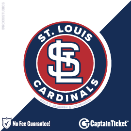 Buy St Louis Cardinals Tickets At Captain Ticket™ - The Original No Fee Ticket Site