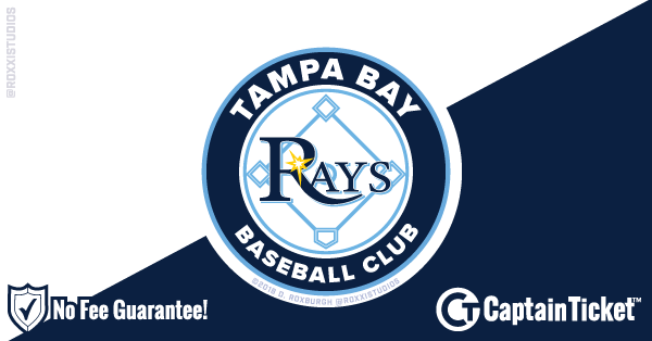 Buy Tampa Bay Rays Tickets At Captain Ticket™ - The Original No Fee Ticket Site