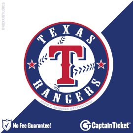 Buy Texas Rangers tickets for less with no service fees at Captain Ticket™ - The Original No Fee Ticket Site! #FanArtByRoxxi