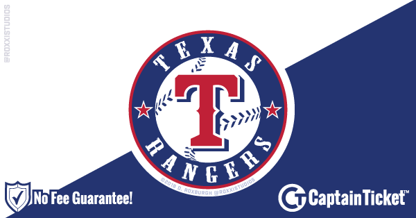 Get Texas Rangers tickets for less with everyday low prices and no service fees at Captain Ticket™ - The Original No Fee Ticket Site! #FanArtByRoxxi