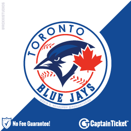 Buy Toronto Blue Jays tickets for less with no service fees at Captain Ticket™ - The Original No Fee Ticket Site! #FanArtByRoxxi