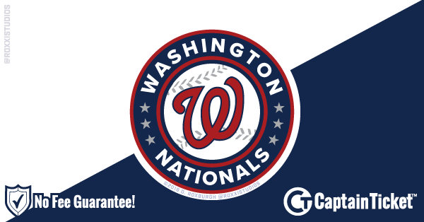 Buy Washington Nationals Tickets At Captain Ticket™ - The Original No Fee Ticket Site