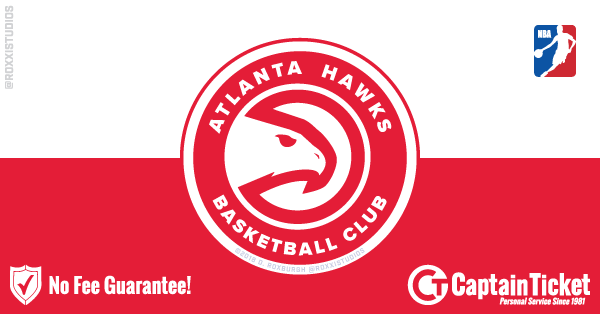 Buy Atlanta Hawks tickets cheaper with no fees at Captain Ticket™ - The Original No Fee Ticket Site!