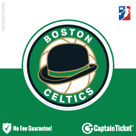 Buy Boston Celtics tickets cheaper with no fees at Captain Ticket™ - The Original No Fee Ticket Site!