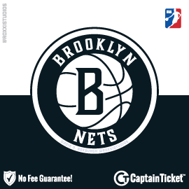 Buy Brooklyn Nets tickets for less with no service fees at Captain Ticket™ - The Original No Fee Ticket Site! #FanArtByRoxxi