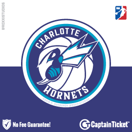 Buy Charlotte Hornets tickets for less with no service fees at Captain Ticket™ - The Original No Fee Ticket Site! #FanArtByRoxxi