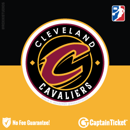Buy Cleveland Cavaliers tickets cheaper with no fees at Captain Ticket™ - The Original No Fee Ticket Site!